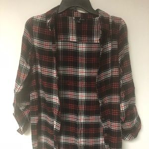 Tunic-Style Flannel for Fall! 🍁
